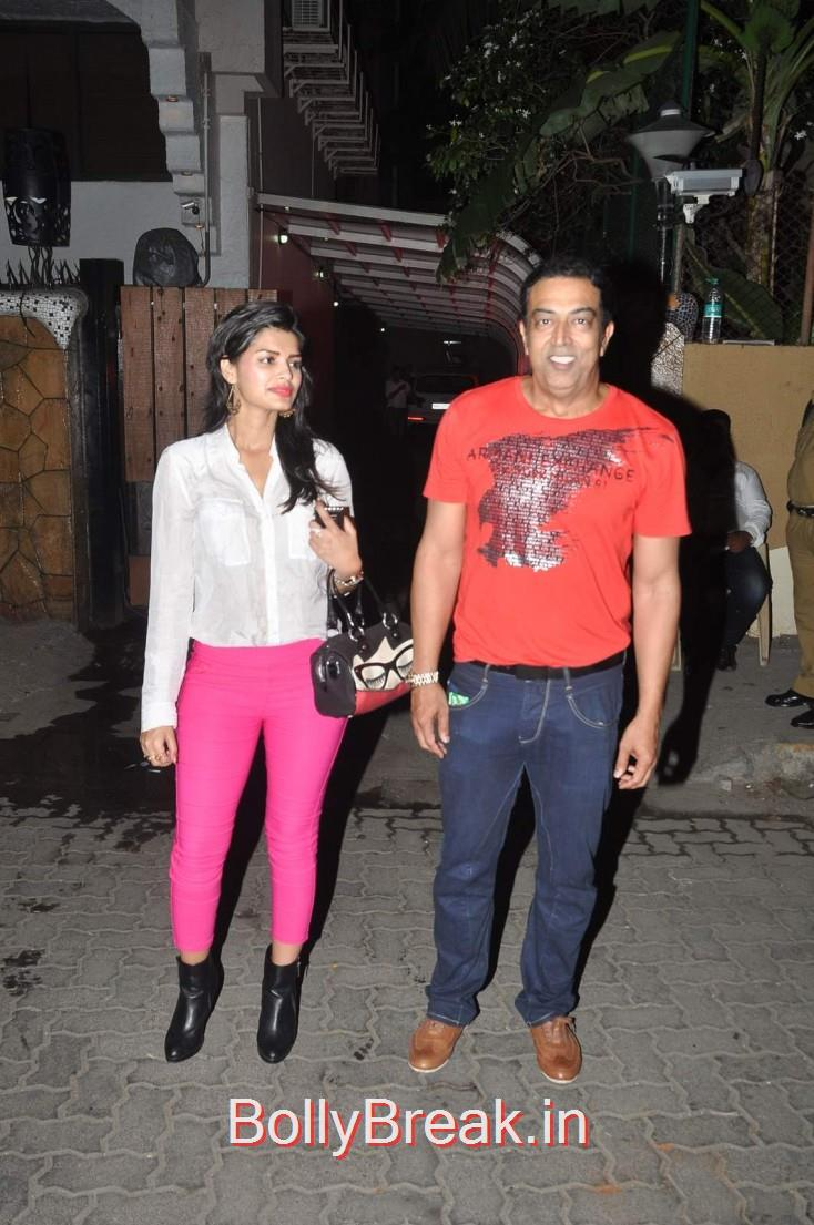 Vindoo Dara Singh, Celebs  at Karim Morani's Birthday Bash