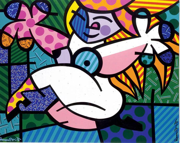 1ec465435 Coisas da Vida: Romero Britto e suas obras