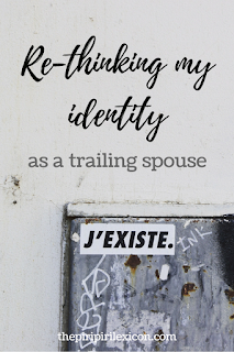 Trailing spouse: rethinking my identity and telling my story