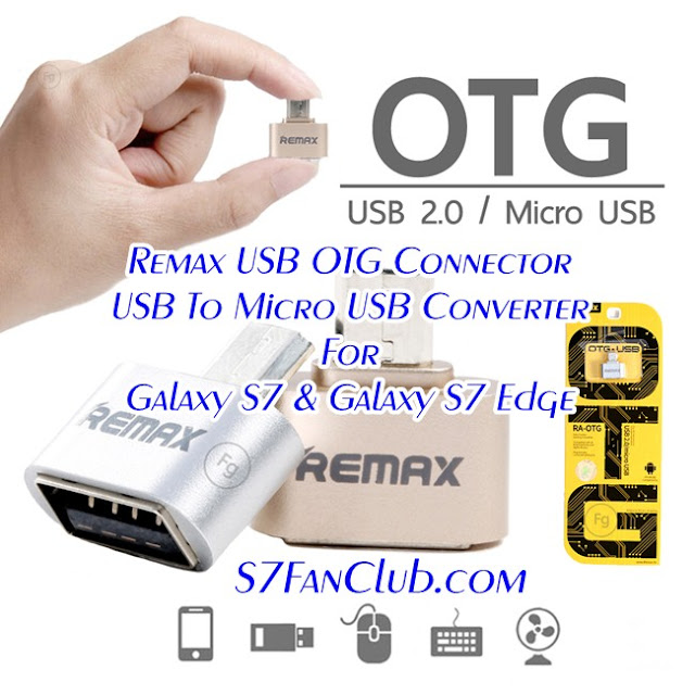 Remax USB OTG Connector Samsung Galaxy S7
