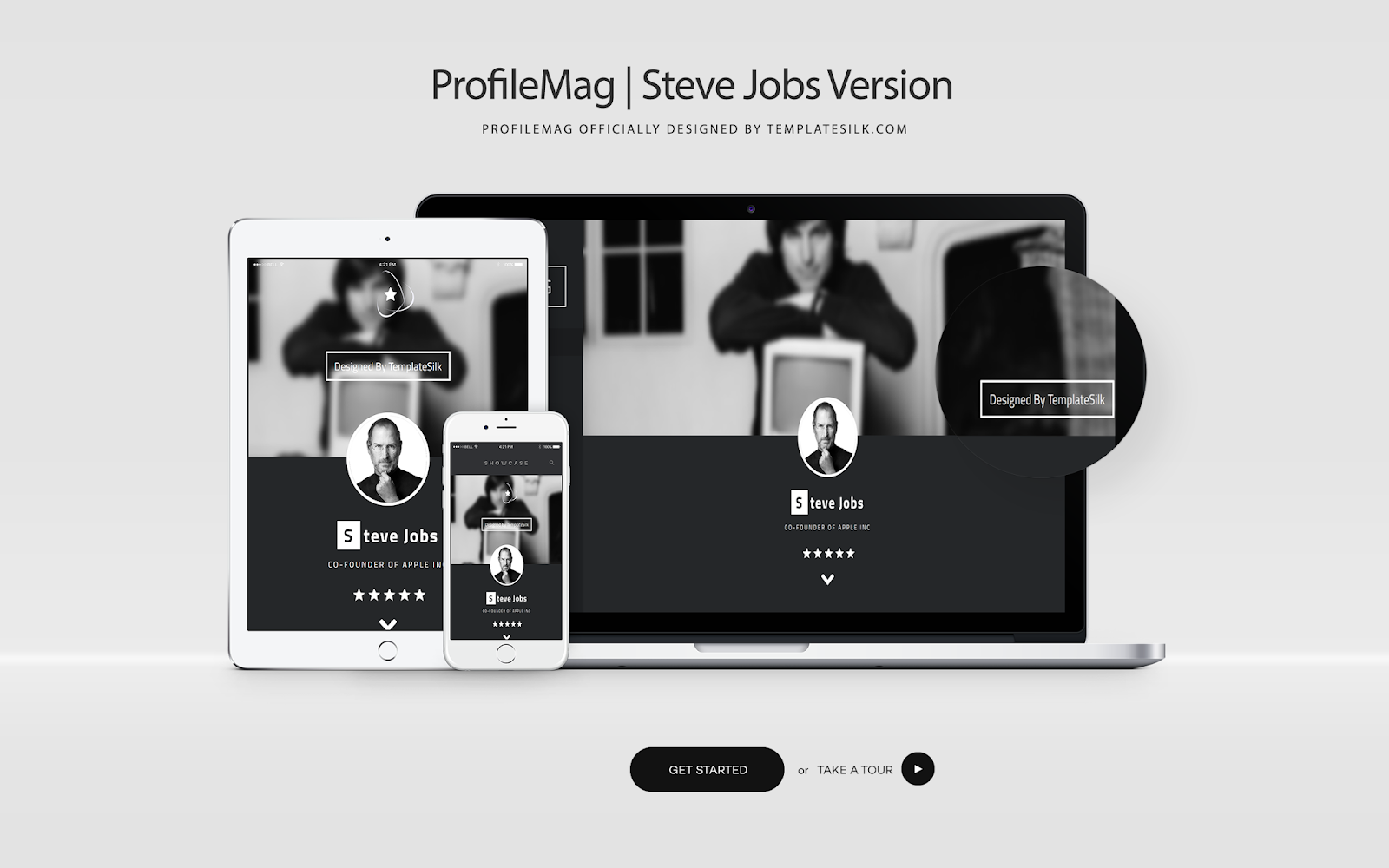 ProfileMag Blogger Theme