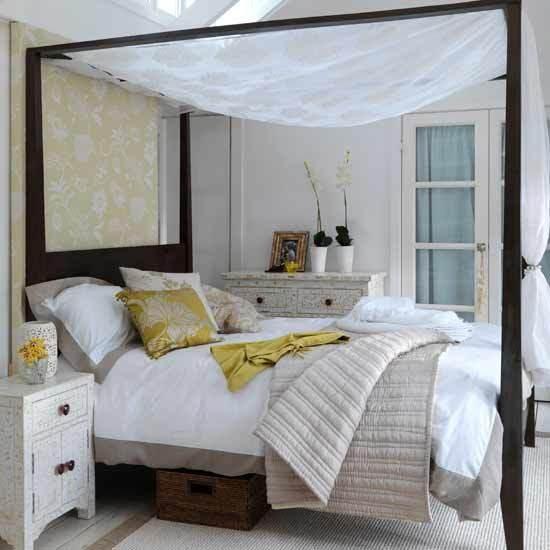 Calming Bedroom: New Home Interior Design: Expressived Modern Bedroom