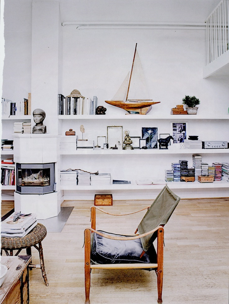 Lunch latte space a stylish living room in denmark for Elle decoration uk