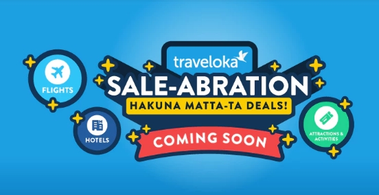 Traveloka Sale-Abration