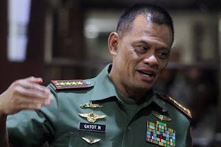 Panglima TNI : Asing Sangat Bernafsu Untuk Kuasai Kekayaan Alam RI - Commando