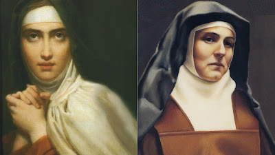 St. Teresa of Ávila & St. Teresa Benedicta of the Cross