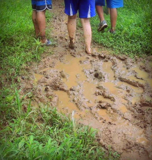 A lesson from mud and a young boy in Panama ~ Quiet Time Whispers