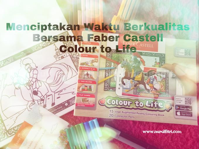 Menciptakan Waktu Berkualitas Bersama Faber Castell Colour to Life