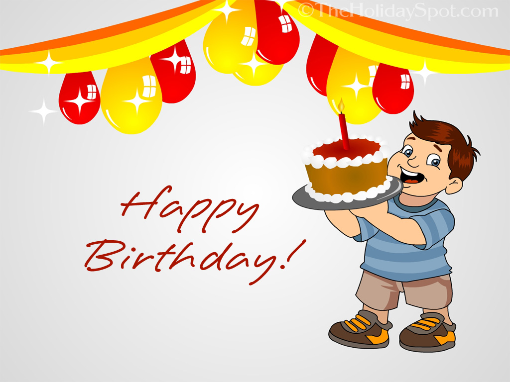 Download The Cool Happy Birthday HD Wallpaper Free