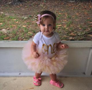 Allie Jane Webster, one year old 2016