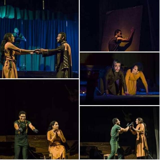 """على أوتار """"الطائر الأزرق """" عزفت الساحرة الصغيرة نادين خالد على مسرح جامعة عين شمس"""