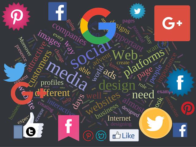 impact of social media on web design