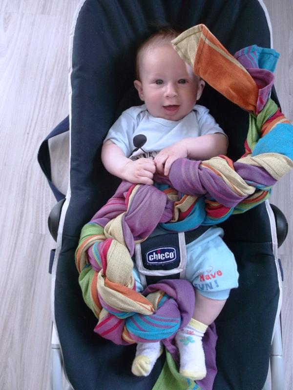 chusta do noszenia niemowląt forum