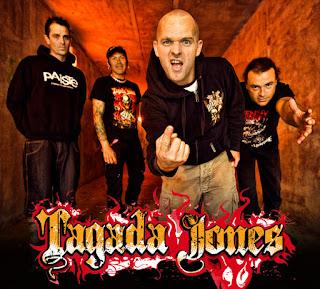 Les membres de Tagada Jones