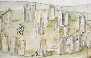 Μια από τις αρχαιότερες σωζόμενες απεικονίσεις του Stonehenge