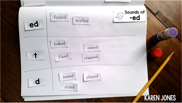 sounds of ed activity