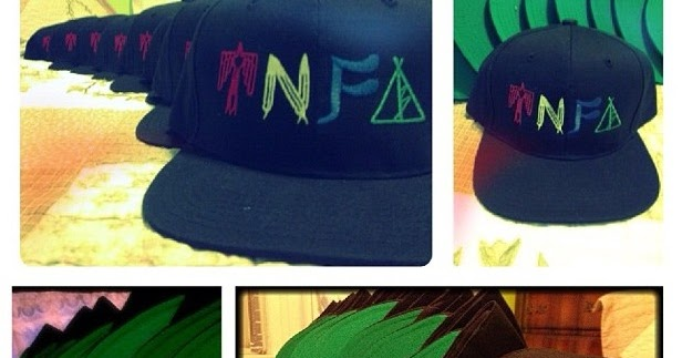 Allure Du Courant: Style Soitlight: T N F  Snapback Hats