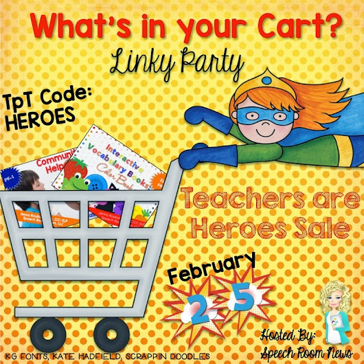 What's in Your Cart Linky: Hero Sale!!!
