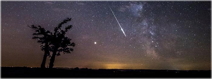 chuva de meteoros draconidas 2018