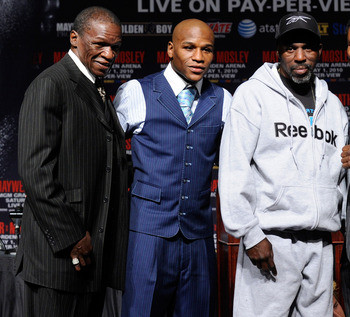 'Big' Floyd, 'Little' Floyd and Roger Mayweather