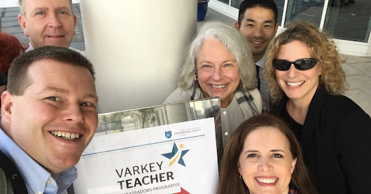 Global Teacher Prize Trip Report - VTA Summit Day 1
