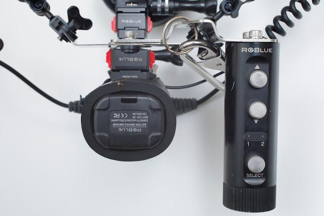ライトの光量を手元で調整できるリモートコントローラー RGB-RC01