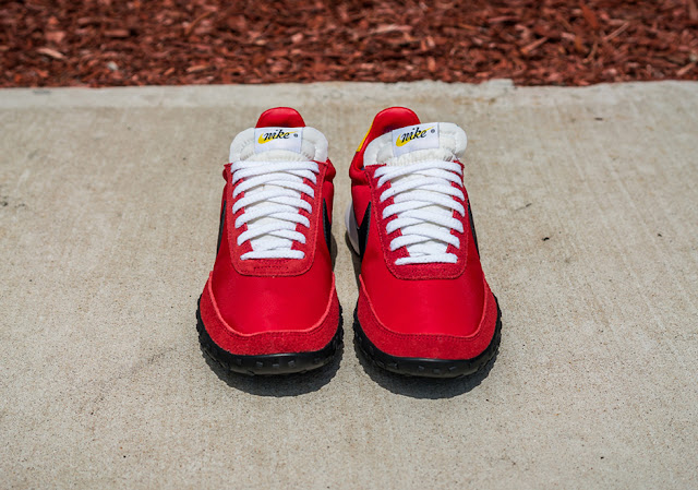 Nike Sports Wear Waffle Racer vermelho red retro