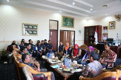 Zaiful Bokhari Terima Kunjungan Tenaga Kesejahteraan Sosial Kecamatan (TKSK) se-Lampung Timur
