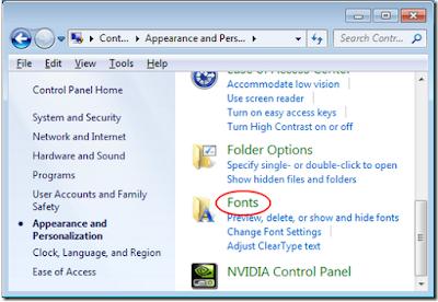 Mengembalikan Font Ke Default di Windows, Begini caranya