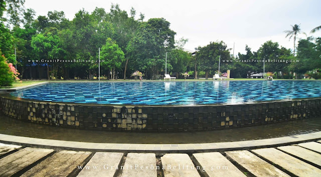 Kolam Renang Cottage Marina Resort Belitung