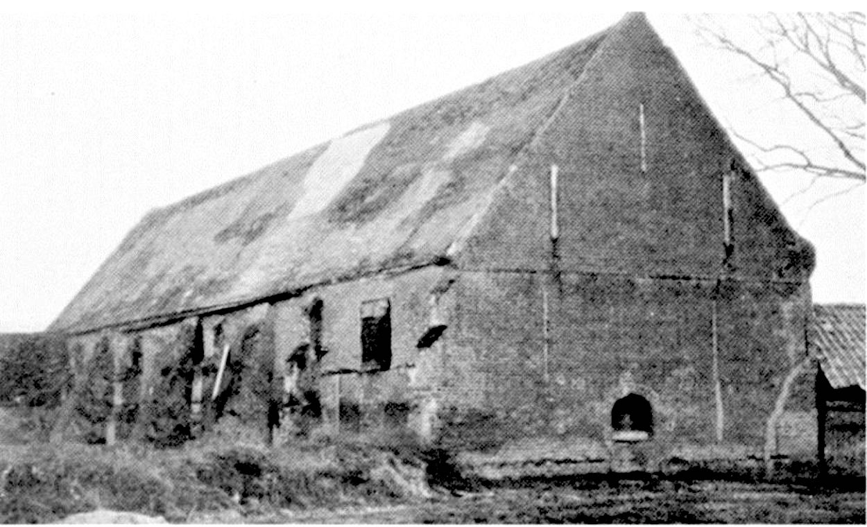 Oliver Cromwell's barn, St Ives