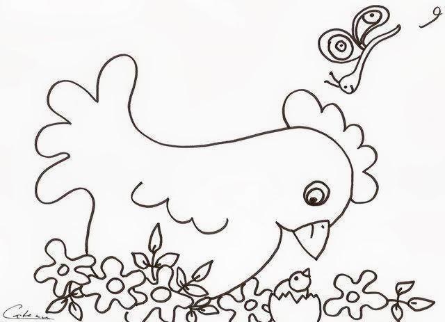 Artes da nil riscos e rabiscos galinhas lindinhas for Cose con la g