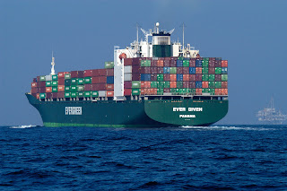 Container Ship - Source: oceanservice.noaa.gov