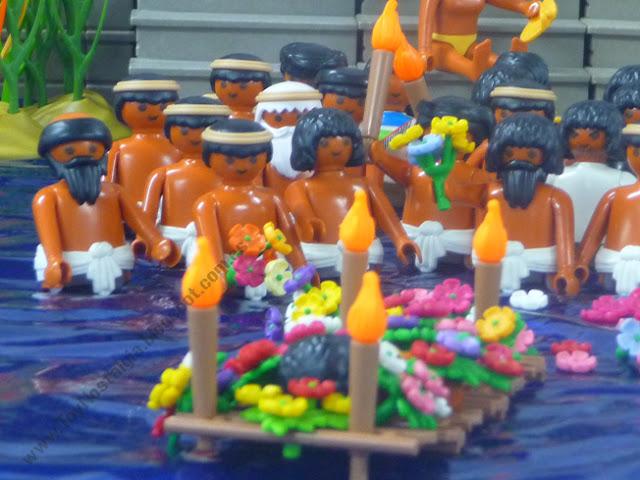 Diorama Playmobil Ritual Funerario