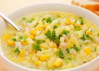 Resep sup Jagung Halus