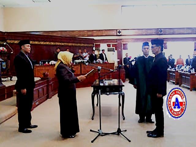 <b>Mamiq Alex Resmi Dilantik Menjadi Anggota DPRD NTB</b>