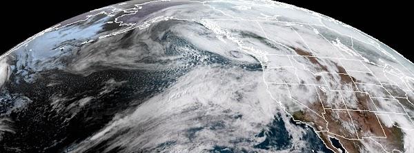 Serie de tormentas severas en el Pacífico impactará el Oeste de Estados Unidos