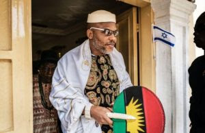 Nnamdi Kanu storms Rivers, insists on referendum as condition for 2019 poll