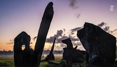 Misteri Mengelilingi Keberadaan Amazon Stonehenge