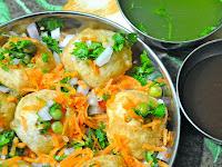 Resep Pani Puri Masakan India Yang Mudah dan Praktis