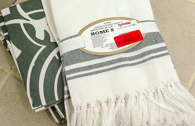 TJ Maxx Turkish towels