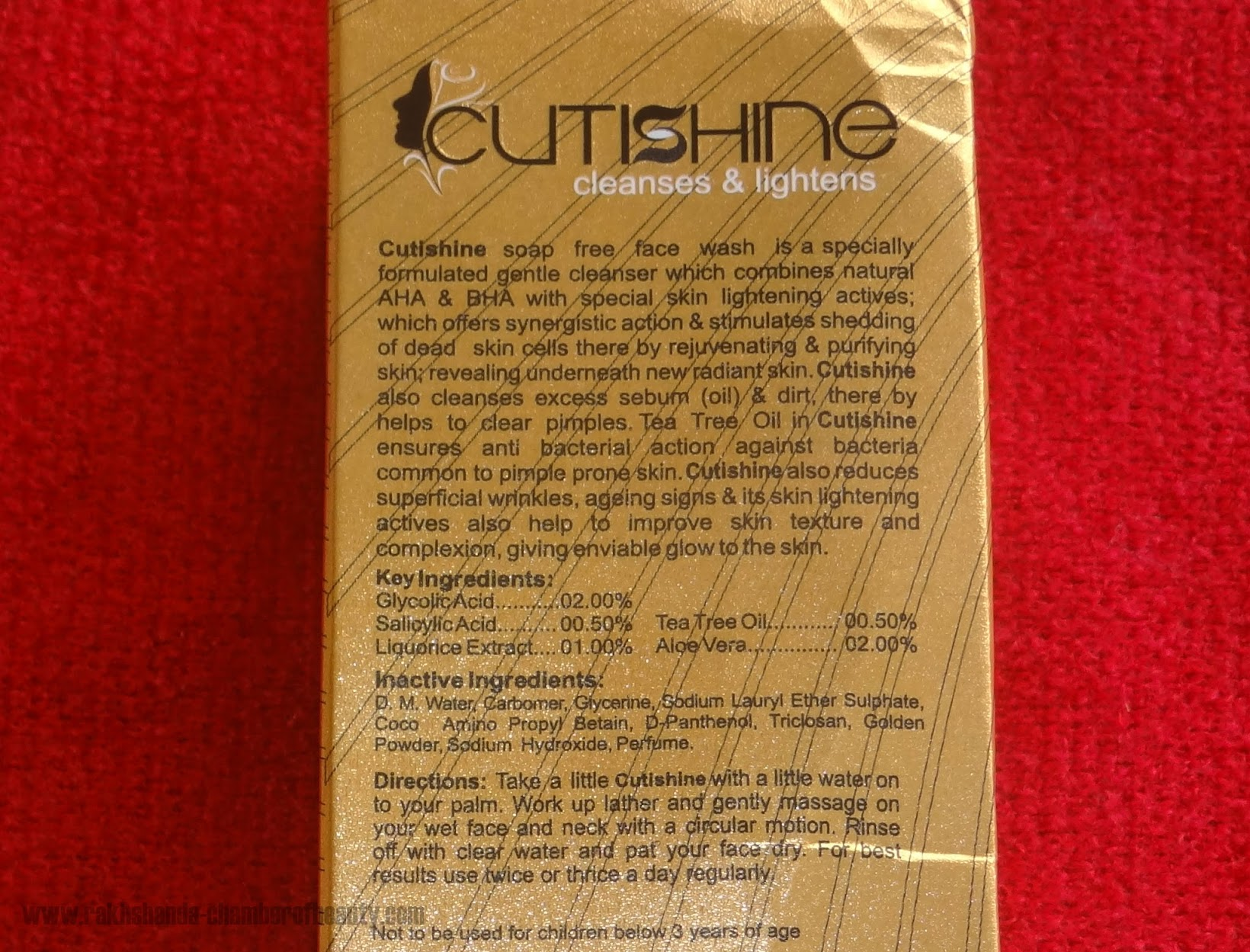 Ethicare Remedies Cutishine Face Wash review, cleansing face wash, cleanser for brightening, Cutishine face wash, Ethicare, Ethicare Remedies face wash review, Indian beauty blogger, face wash for oily/combination skin, Chamber Of Beauty, Cutishine face wash review, bright skin