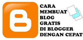 Cara Membuat Blog Gratis Dengan Cepat Di Blogger