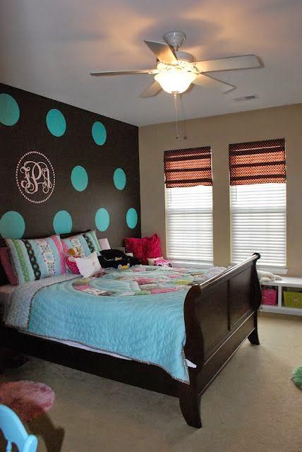 Dormitorios para ni os con c rculos en las paredes - Decoracion en paredes para ninos ...
