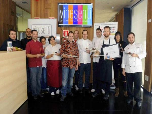 I Concurso a la mejor tapa Vinesenti de Valladolid