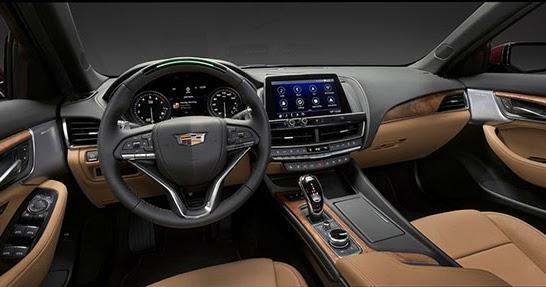 Burlappcar 2020 Cadillac Ct5 Interior