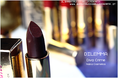 DILEMMA review  diva crime goldust collection Nabla cosmetics