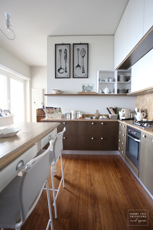 Restyling di una cucina - Shabby Chic Interiors