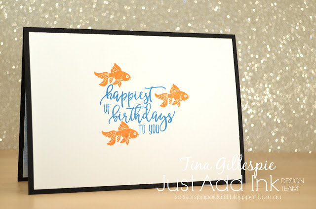 scissorspapercard, Stampin' Up!, Just Add Ink, Just Add Colour SDSP, Picture Perfect Birthday, Jar Of Love, Watercolour Pencils