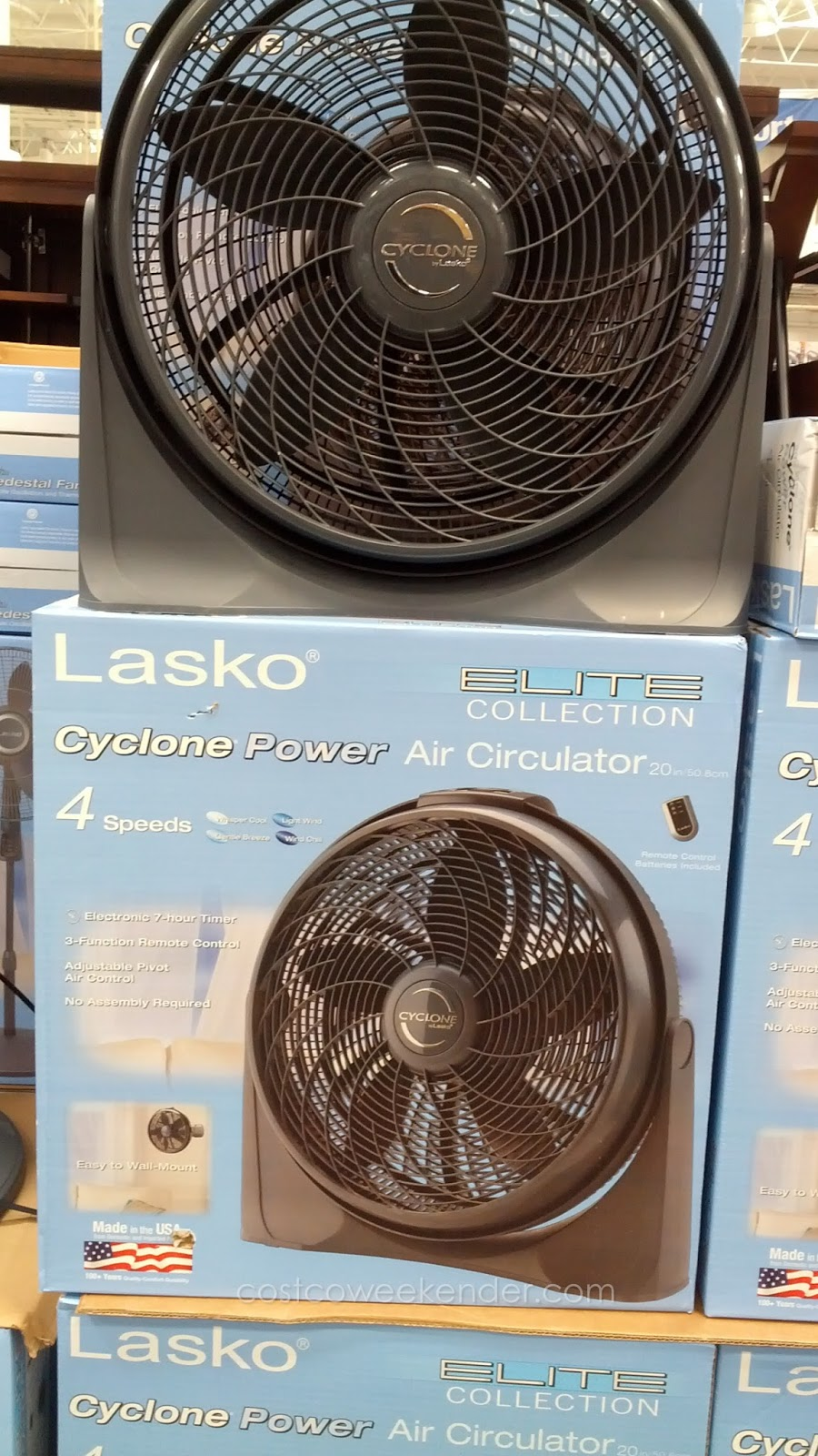 Lasko Elite Collection Air Circulator Cyclone Fan Costco